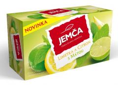 Jemča Limeta citron máta ovocno-bylinný čaj 20*2g