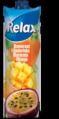 Relax pomeranč, mandarinka, maracuja a mango 1l