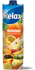 Relax Multivitamin 100% džus 1l