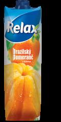 Relax Brazilský pomeranč s dužinou 1l