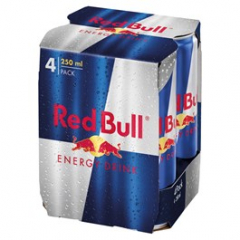 Red Bull energetický nápoj 250ml /4ks