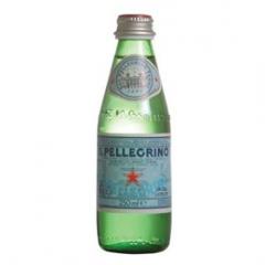 San Pellegrino minerální voda perlivá 250ml sklo /24ks