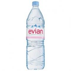 Evian minerální voda neperlivá 1,5l /6ks