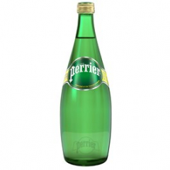 Perrier minerální voda perlivá 750ml sklo /12ks