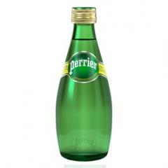 Perrier minerální voda perlivá 330ml sklo /24ks