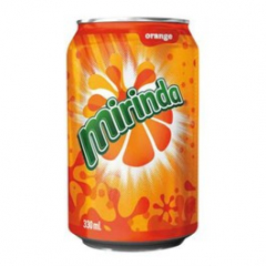 Mirinda Orange 0,33l plech /24ks