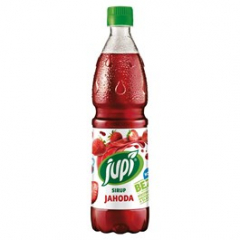 Sirup Jupí jahoda 700ml pet /6ks