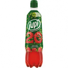 Sirup Jupí Superovocný jahoda 700ml pet