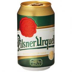 Pilsner Urquell pivo světlý ležák 330ml plech /24ks