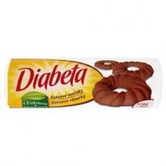 Diabeta Věnečky kakaové 5x100g