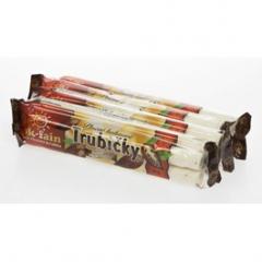 Trubičky plněné kakaové 5x35g