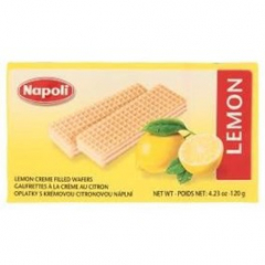 Napoli oplatky citronové 120g