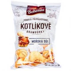 Bohemia Kotlíkové mořská sůl 120g