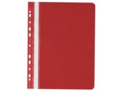 Rychlovazač A4 PVC euro červený