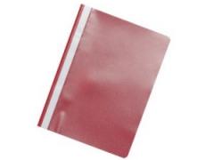 Rychlovazač A4 PP červený