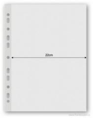 Obal prospektový extra široký 22cm 100µm 50ks