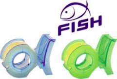 Lepící páska s odvíječem Fish 19mmx10m