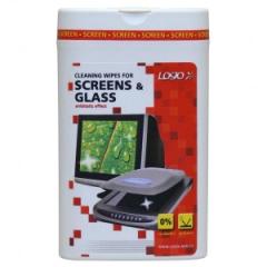 Ubrousky vlhčené na LCD 50ks