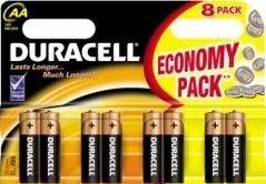 Baterie Duracell Basic 1500 AA 8ks