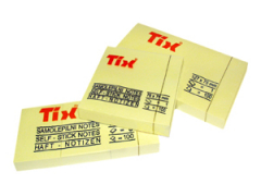 Bloček žlutý 38x51mm žlutý 100 listů
