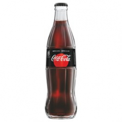 Coca-Cola Zero sklo 330ml vratná láhev /24ks