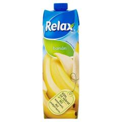 Relax banán 1l Jablečno-banánový nápoj