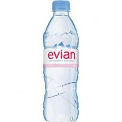 Evian minerální voda neperlivá 0,5l /24ks
