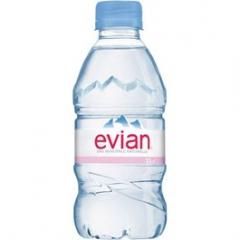 Evian minerální voda neperlivá 330ml /24ks