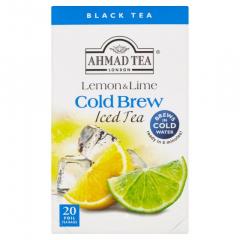 Ahmad Tea Cold Brew Lemon/ Lime černý ledový čaj 40g