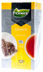 Pickwick 100% Natural Tea Master Selection čaj černý/citron 25x1,5g