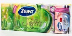 Zewa Softis Cotton kapesníky 4-vrstvé 10x9ks
