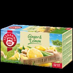Teekanne Ginger a Lemon ovocno-bylinný čaj 20x1,75g