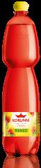 Korunní mango jemně perlivá voda 1,5l /6ks