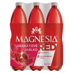 Magnesia Red Granátové jablko jemně perlivá ochucená minerální voda 1,5l /6ks