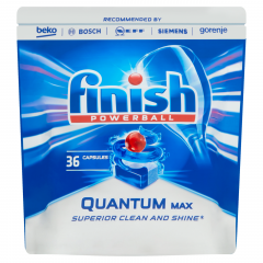 Finish Powerball Quantum Max Regular tablety do myčky nádobí 36ks