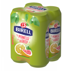 Birell Ochucený pomelo/grep nealkoholické pivo 4x500ml