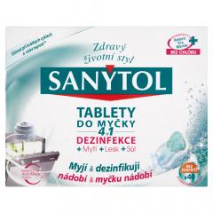 Sanytol Dezinfekční tablety do myčky 4v1 40ks