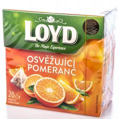 Loyd čaj pyramida pomeranč 20x2,2g