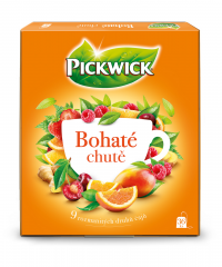 Pickwick Čaj Bohaté chutě mixbox 69g