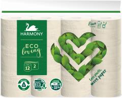 Harmony Eco Loving Toaletní papír 2-vrstvý 12ks