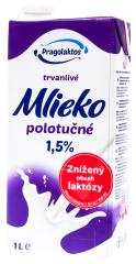 Pragolaktos Mléko se sníženým obsahem laktózy 1,5% 1l