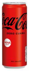 Coca Cola Zero plech 0,33l /24ks