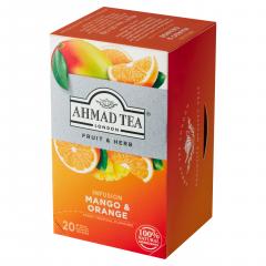Ahmad Tea Fruit&Herb Infusion Ovocno-bylinná směs mango&pomeranč 20x2g