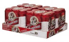 Gambrinus Original 10 pivo 0,5L plech /24ks