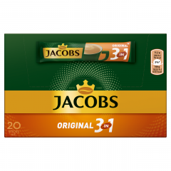 Jacobs Original 3v1 Káva instantní porce (20ks) 304g