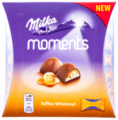 Milka Moments Mini Toffee Wholenut 97g