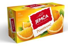 Jemča Pomeranč ovocný čaj 20*2g