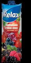 Relax multivitamin červené ovoce 25% 1l