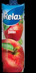 Relax jablko 100% 1l