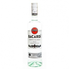 Bacardi Carta Blanca rum 37,5% 700ml